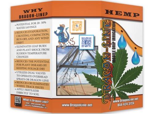 Dragon-Line Hemp Trifold Brochure (Packs of #25)