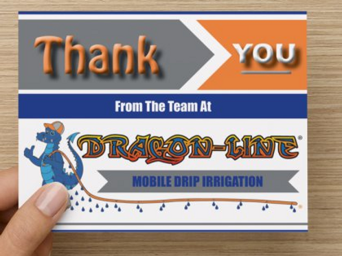 Dragon-Line Thank You Card (Pack of #25)