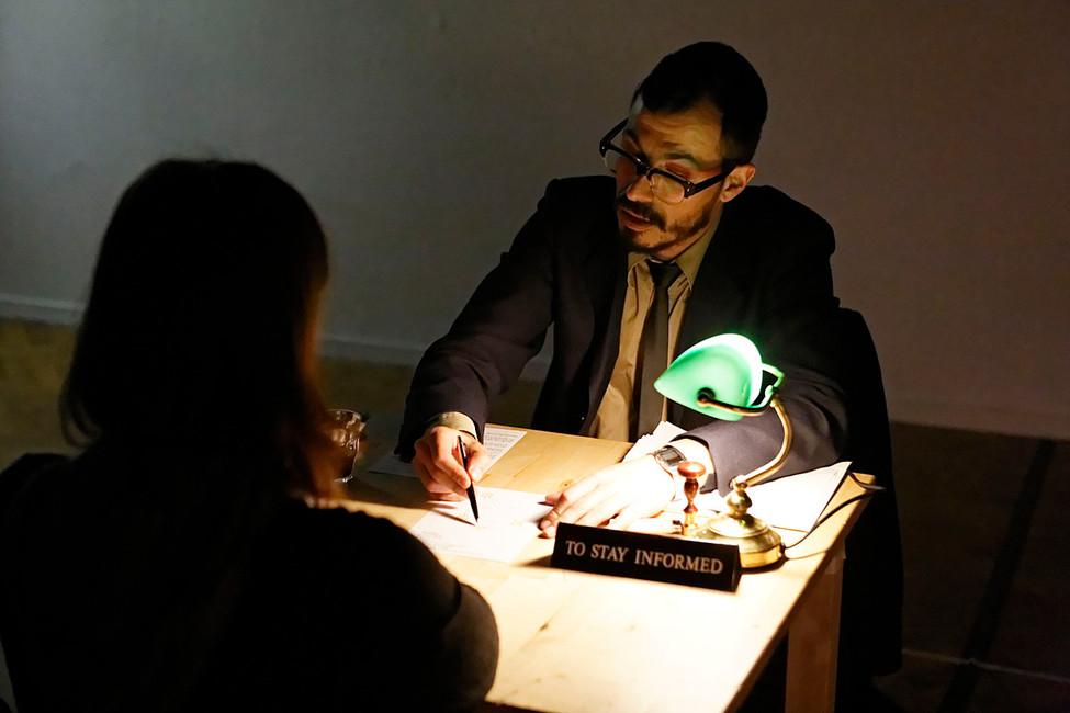 João Evangelista - Zero Hour Bureau, photo by Thomas Lenden