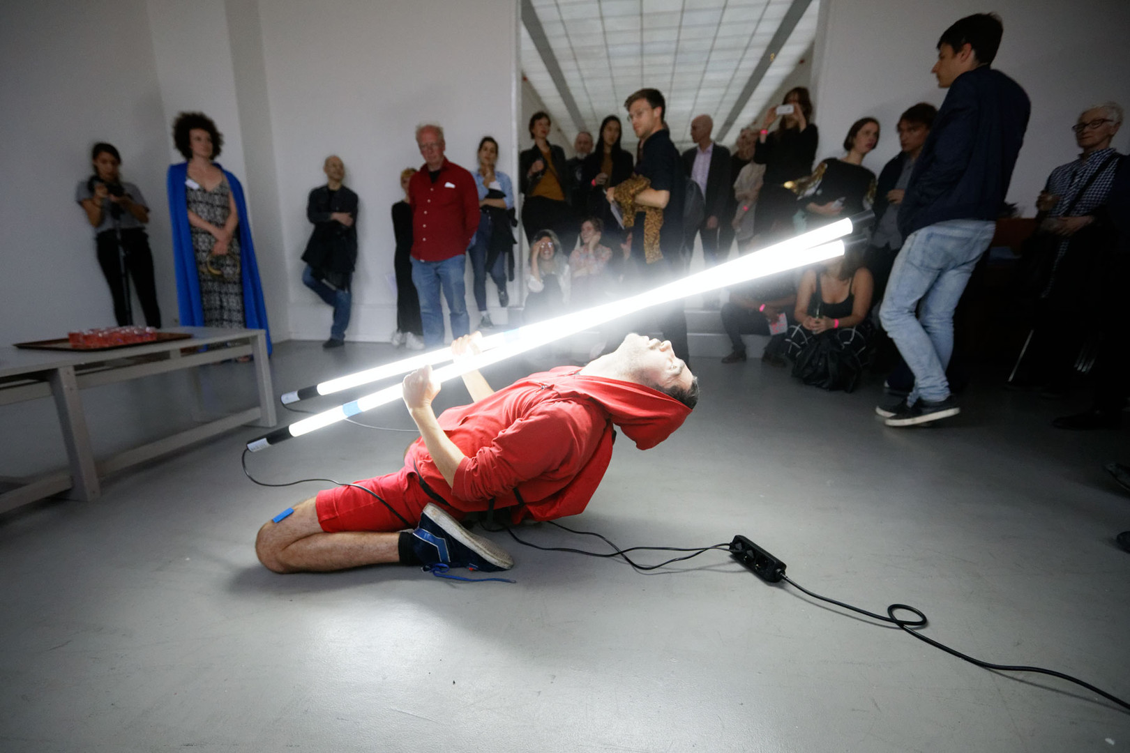 Joaquin Wall, Opening Ritual, photo by Thomas Lenden