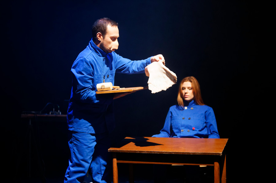 Being No One, Luciënne Venner and Jeroen Echter, photo by Thomas Lenden