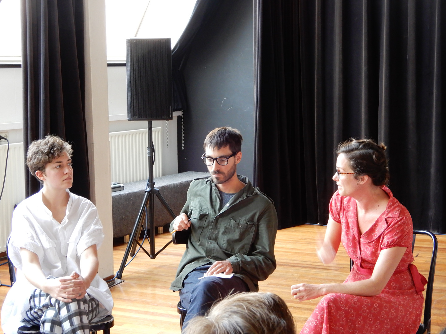 On Alterity, Panel Talk with with Anna Reutinger, Jessica and Ellen Algera