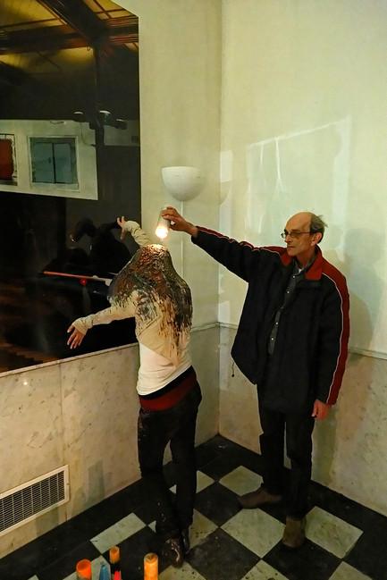 Mariko Kuwahara and Cathalijne Smulders - Light us up, photo by Thomas Lenden