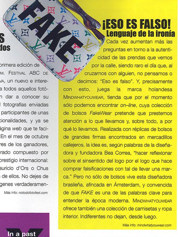 Tendencias magazine, Spain