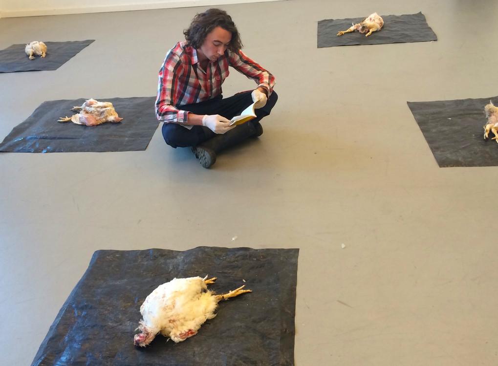 Bart van den Heuvel, Bloated, photo by Bea Correa