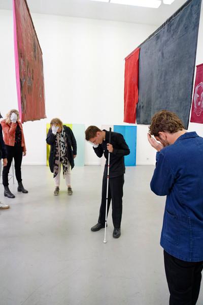 Sightless Seeing (inside A&A), Sarah van Lamsweerde, photo by Thomas Lenden