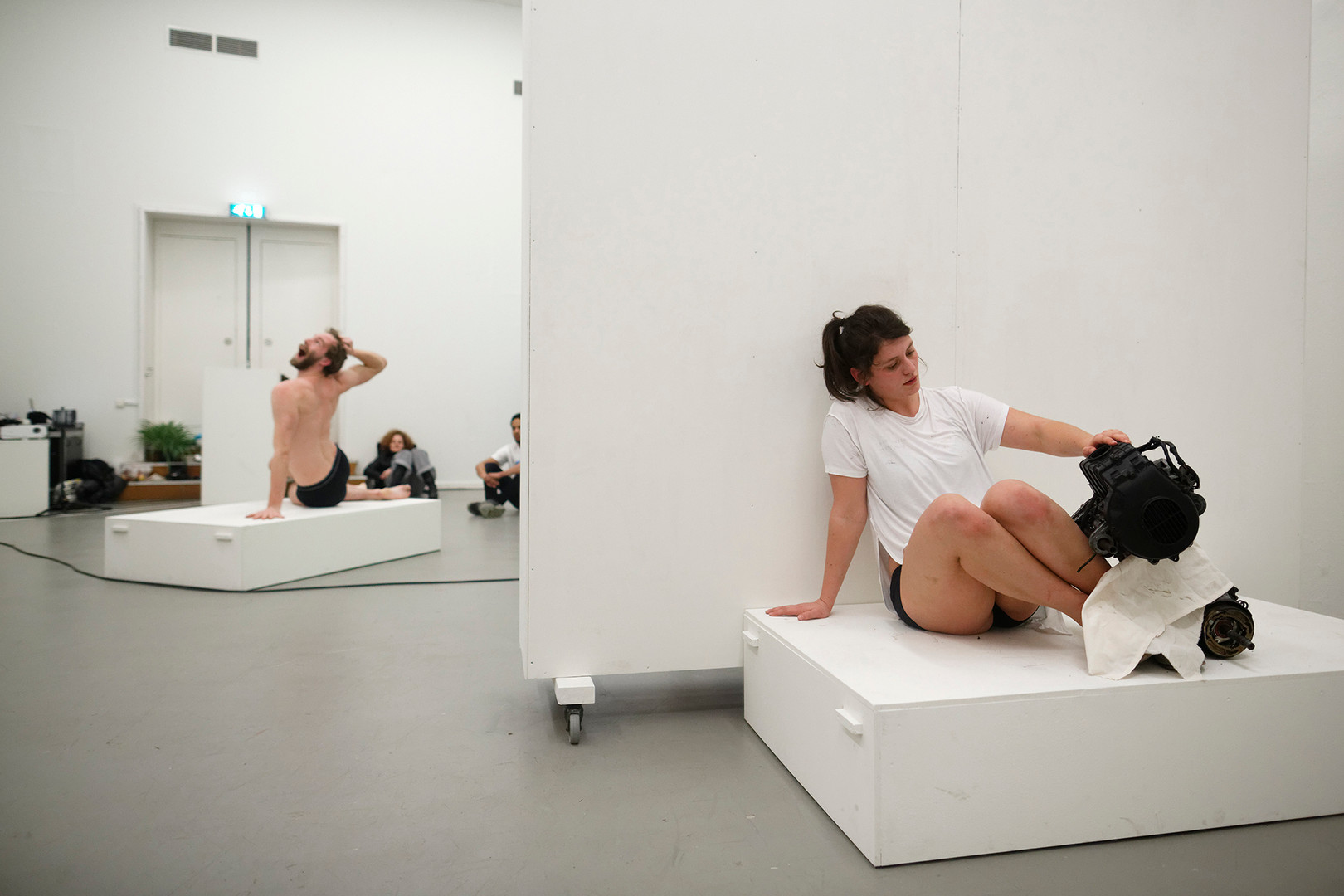 FaustRaum, Franziska Menge & Hendrik Walther, photos by Thomas Lenden