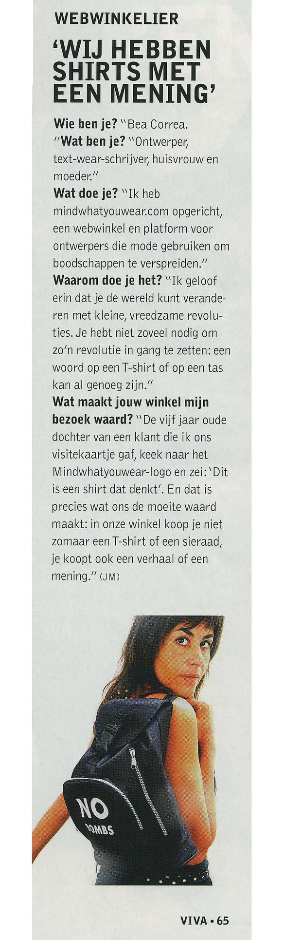 Viva magazine, The Netherlands
