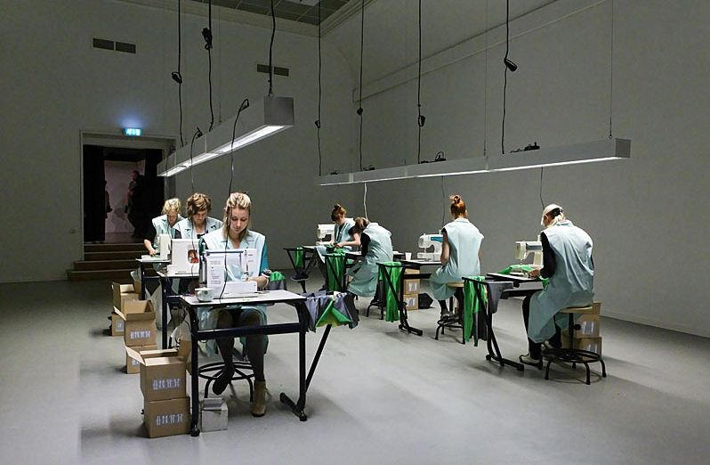 Eva Schippers NL – The Sweatshop