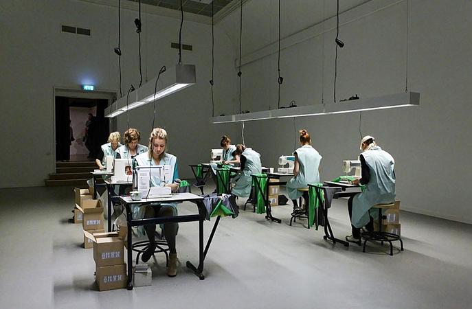 Eva Schippers NL – The Sweatshop