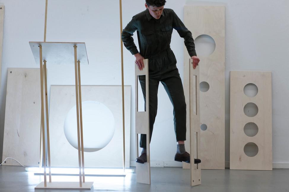 Choreographed by the other, Nina Glockner, photo by Thomas Lenden