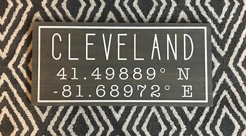 Cleveland Coordinates