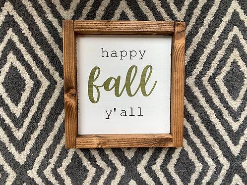 Fall Ya'll