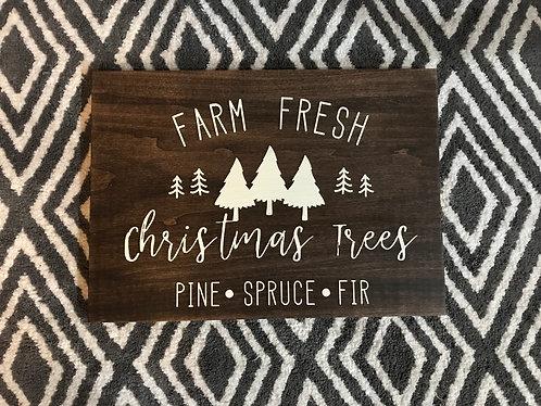 Seasonal Market Sign