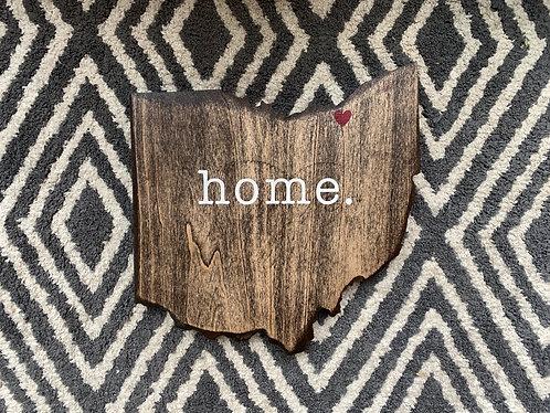Mini Ohio Sign