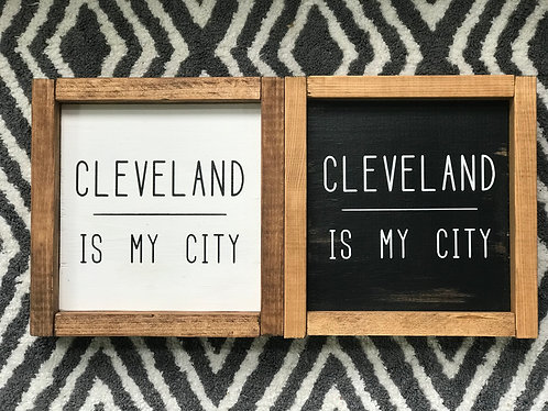 Cleveland Is My City