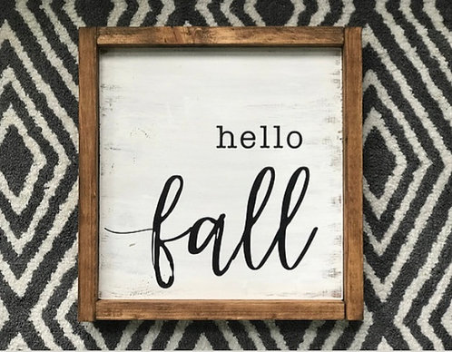 Hello Fall 2018
