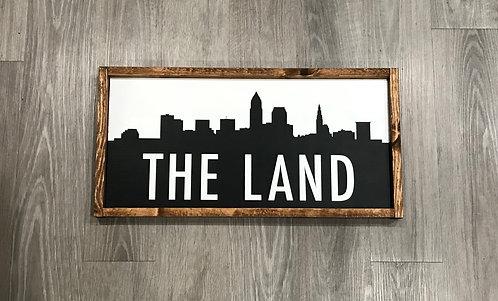 The Land- framed