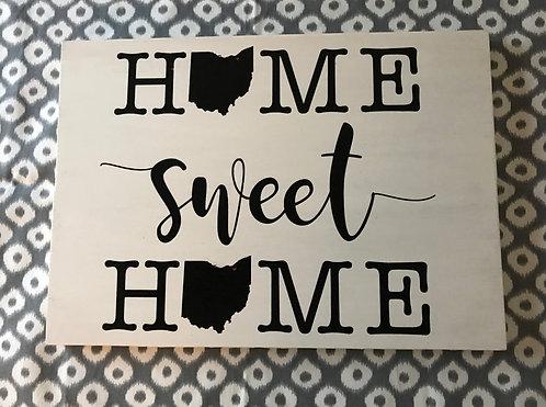 Home Sweet Home- Ohio