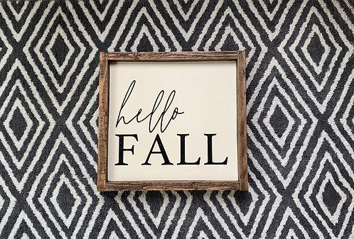 Hello Fall 2019
