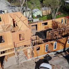 Second Floor Shearing- Plywood installation