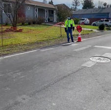 traffic control for large projects video
