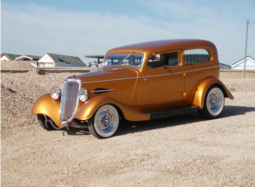 1934 Two Door Ford Sedan