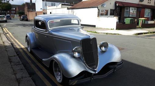 1933 Ford Three Window