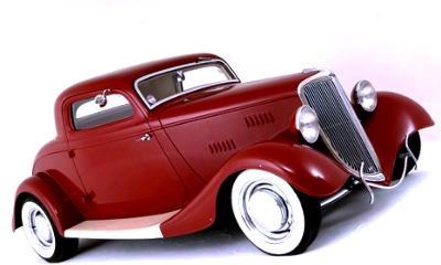 1934 Ford Three Window