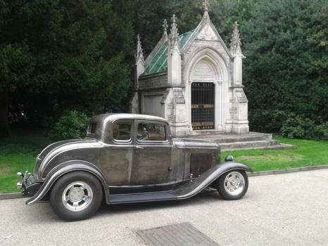 1932 Five Window Coupe