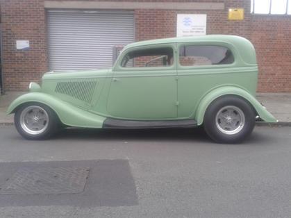 1933 Ford Two Door Sedan