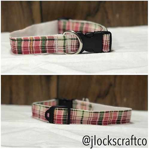 Holiday Plaid Collar