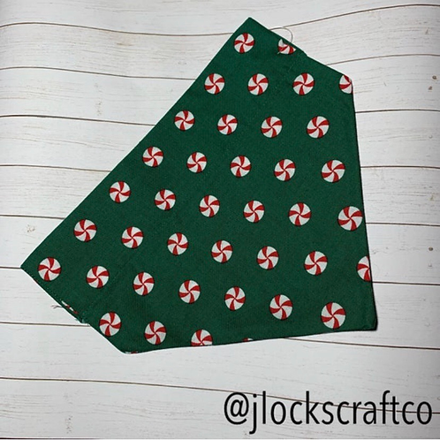 Green Mint Over The Collar Bandana