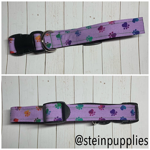 Purple Paw Collar