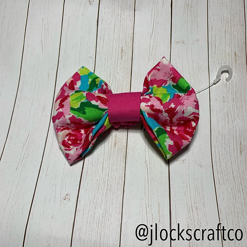 Bright Rose Bow