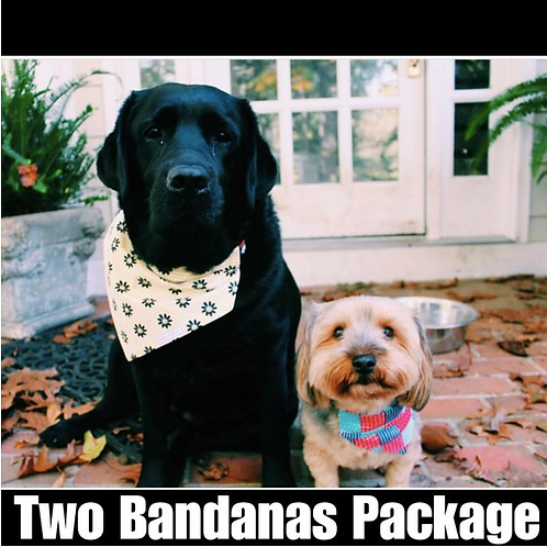 Two Bandana Package
