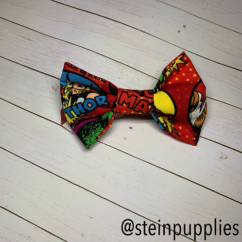 Red Marvel Bow