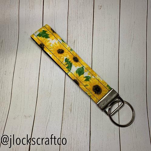 Sunflower #2 Key Fob