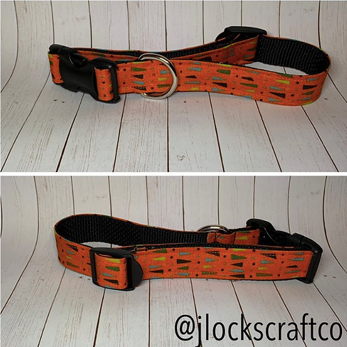 Orange Retro Collar