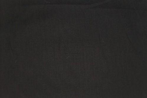 Sábana algodón negra