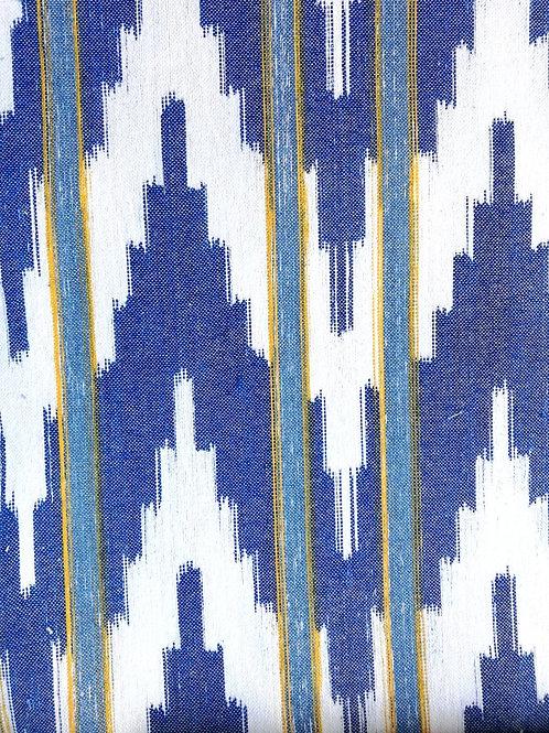 Tela Mallorquina - Ikat Pollensa azul