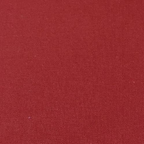 Sábana algodón roja