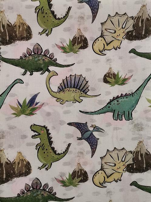 Algodón Dinosaur