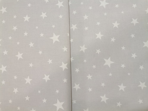 Algodón Stars f. gris