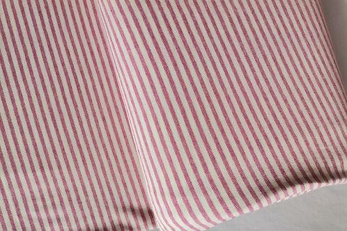 Punto Camiseta Rayas Rosa