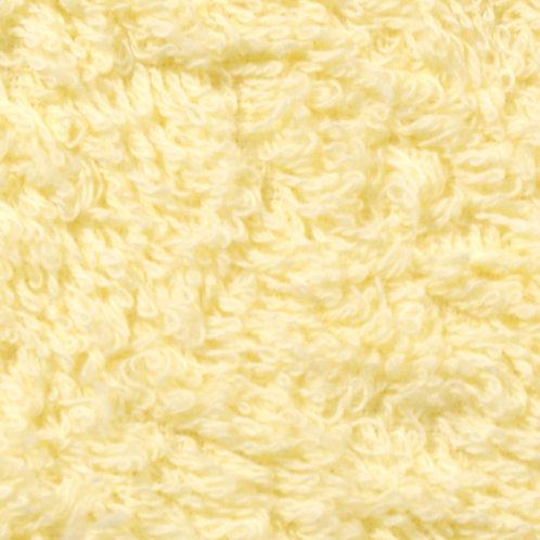 Rizo algodón plastificado por una cara - amarillo pastel