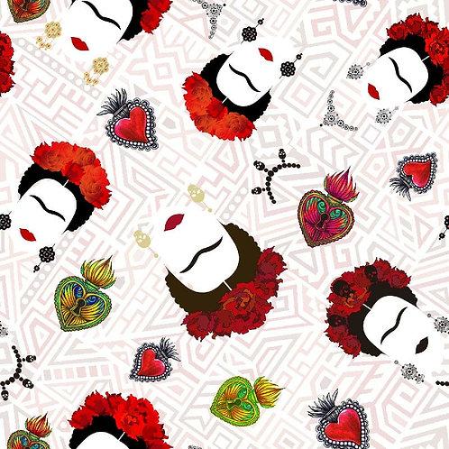 Algodón Frida Cabeza
