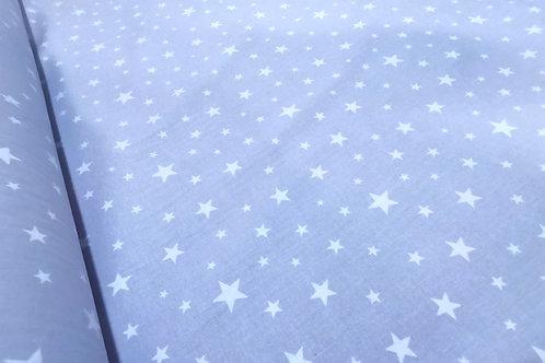 Algodón Stars f. azul