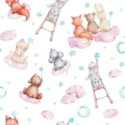 Algodón Dreamy Animals