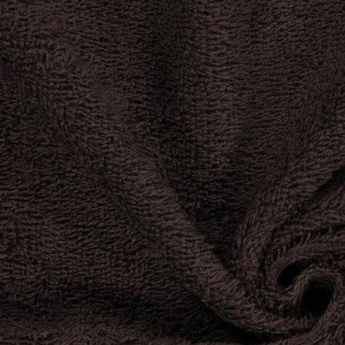 Felpa o rizo de toalla Marrón oscuro